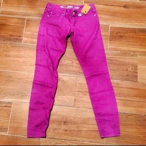 New Express Zelda Slim Fit Skinny Jeans - 4